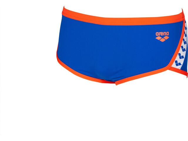 arena Team Stripe Low Waist Shorts Herr neon blue/nectarine
